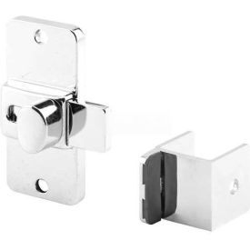 "Slide Latch W/Keeper, 1-1/4"", Outswing"