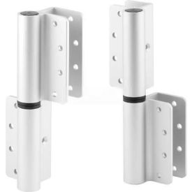 Round Barrel Hinge, Top Only, LH-In/RH-Out, Anodized