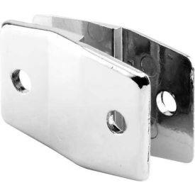 """Alcove Clip, For 1/4"""" Offset, St. Stainless Steel - Pkg Qty 2"""