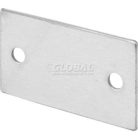 """Alcove Clips, 2-5/8""""L X 1-1/2""""H, For Equal Panels, St. Stainless Steel - Pkg Qty 6"""