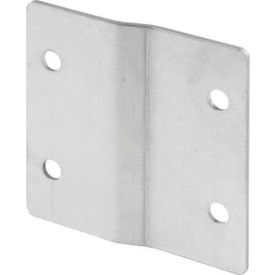 """Alcove Clip - 3"""" Wide For 1/4 Offset, 1/8 Clip, Stainless Steel - Pkg Qty 4"""
