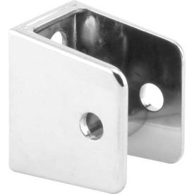 "U Bracket, 1"", Chrome - Pkg Qty 6"
