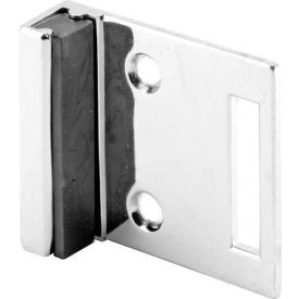 Strike & Keeper, Inswing, Wall Mount, Chrome - Pkg Qty 4