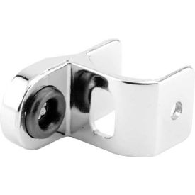 """Strike & Keeper, In/Outswing, Chrome, 1-1/4"""" - Pkg Qty 4"""