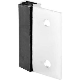 Strike, In/Outswing, For Slide Latch, Chrome - Pkg Qty 4