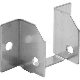 """Headrail Bracket, 1"""", W/Track, St. Stainless Steel - Pkg Qty 6"""