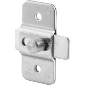 "Slide Latch, 1-7/8"" Hole Centers, St. Stainless Steel - Pkg Qty 2"