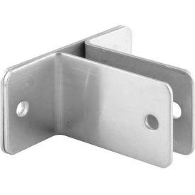 "2 Ear Wall Bracket, 3/4""X 2-1/2""L X 1-1/2""H X 3-3/8""B, St. Stainless Steel - Pkg Qty 4"