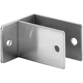 "1 Ear Wall Bracket, 1"" X 2-1/2""L X 1-1/2""H X 2-3/8""B, St. Stainless Steel - Pkg Qty 4"