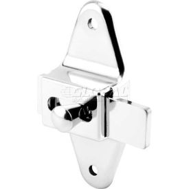 "Slide Latch, 3-1/2"" Centers, Stainless Steel"