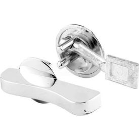 Concealed Latch, W/Flat Tip Bolt, Ada, Chrome - Pkg Qty 2