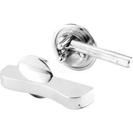 Concealed Latch, W/Straight Bolt, Ada, Chrome - Pkg Qty 2