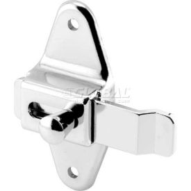 """Slide Latch, 3-1/2"""" Centers, W/Offset Bar, Stainless Steel"""