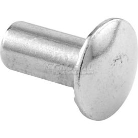"Unslotted Barrel Nut, #10-24 X 1/2"", Chrome - Each - Pkg Qty 100"