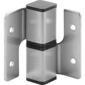 Square Barrel Hinge Set, RH-In/LH-Out, Stainless Steel