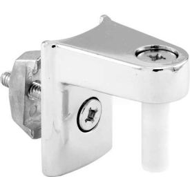 Upper Hinge Assembly, W/Fasteners, Chrome