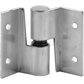 Surface Mounted Hinge Set, RH-In/LH-Out, W/Fasteners,St. Stainless Steel