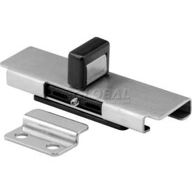 Slide Latch & Keeper W/Fasteners St. Stainless Steel