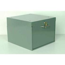 "Stackbin 4-DDC-L-BL Drawer W/Lock, 16""W X 14""D X 11""H, Blue"
