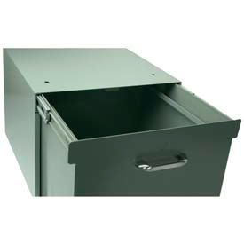 "Stackbin 4-FILERUN-GY File Runners For 11 High Drawer, 16 Or 23""W, Gray"