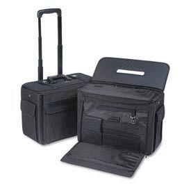 Stebco Ballistic Catalog/Computer Case On Wheels