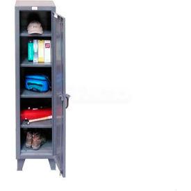 Strong Hold® Locker 1.65.6-184 - Single Tier 18 x 18 x 72, 4 Adjustable Shelves