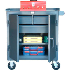 Strong Hold Products 3-TC-241-2/5-1DB Three Drawer Tool Cart