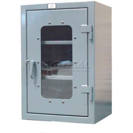 Strong Hold® Heavy Duty Countertop See-Thru Cabinet 33.5-LD-242 - 36 x 24 x 42