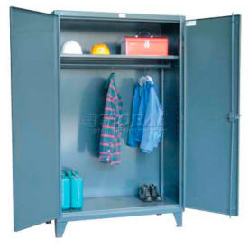 Strong Hold® Heavy Duty Wardrobe Cabinet 46-WR-241 - With Full Width Rod 48 x 24 x 78