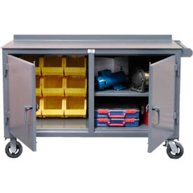 Strong Hold Products 52.7-DS-BBS-301CA Double Shift Tool & Maintenance Cart