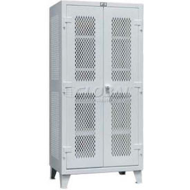 Strong Hold® Heavy Duty Ventilated All Around Cabinet 55-VBS-243 - 60 x 24 x 66