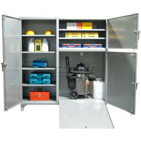 Stronghold Vac Door All-Purpose Ramp Cabinet 72 x 24 x 78