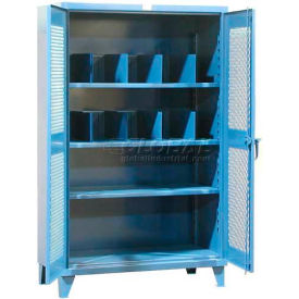 Strong Hold® Heavy Duty Ventilated Divider Cabinet 66-V-241-2APH-12VD - 72 x 24 x 78