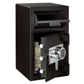 "SentrySafe Front Loading Depository Safe DH-109E - 14""W x 15-5/8""D x 24""H, Black"