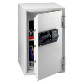 "SentrySafe Commercial Electronic Fire Safe® S6770 - 20-1/2""W x 22""D x 34-1/2""H, Light Gray"