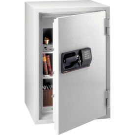 """SentrySafe Commercial Fire Safe® S7771 Electronic Lock, 25-7/16"""" x 23-7/16"""" x 39-13/16"""" Lt Gray"""