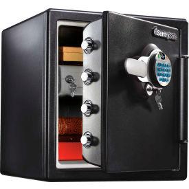 "SentrySafe Fingerprint Biometric Fire Safe SFW123BDC 16-5/16""W x 19-5/16""D x 17-13/16""H Black"
