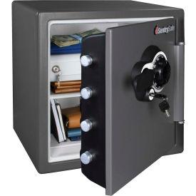 "SentrySafe Fire-Safe® SFW123DEB Combination Lock, 16-5/16""W x 19-5/16""D x 17-13/16""H, Gray"
