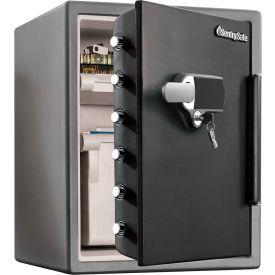 "SentrySafe Alarm Touchscreen Fire Safe SFW205UPC  18-5/8""W x 19-5/16""D x 23-13/16""H Black"