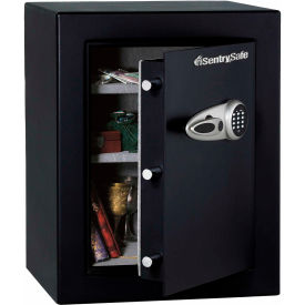 "SentrySafe Security Safe T8-331 Electronic Lock, 21-11/16""W x 19-13/16""D x 27-11/16""H, Black"