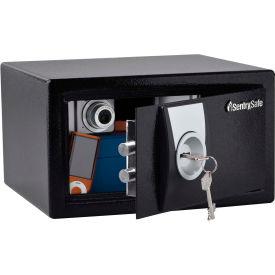 "SentrySafe Security Safe X031 - 11-3/8""W x 10-3/8""D x 6-5/8""H, Black"