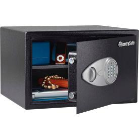 """Sentry Safe® Security Safe® 16.9""""Wx14.6""""Dx10.6""""H / Black"""