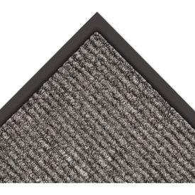 """NoTrax Estes 3/8"""" Thick Entrance Floor Mat, 4' x 6' Charcoal"""
