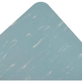 Marble Sof-Tyle RedStop Mat - 2' x Custom Length Blue