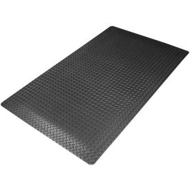 Cushion Trax RedStop Mat - 3' x 5' Black