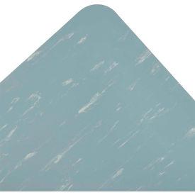 Marble Sof-Tyle Grande RedStop Mat - 3' x Custom Length Blue