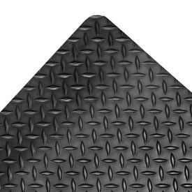 Saddle Trax RedStop Mat - 4' x Custom Lengths Black