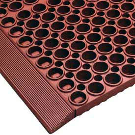 "San-Eze II Mat - Ramp - 58-1/2"" - Red"