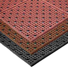 Multi-Mat II Reversible Drainage Mat - 2' x 30' - Brown