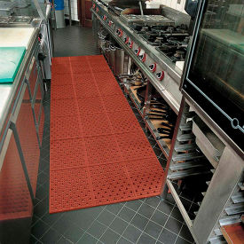 Multi-Mat II Reversible Drainage Mat - 2' x 30' - Red